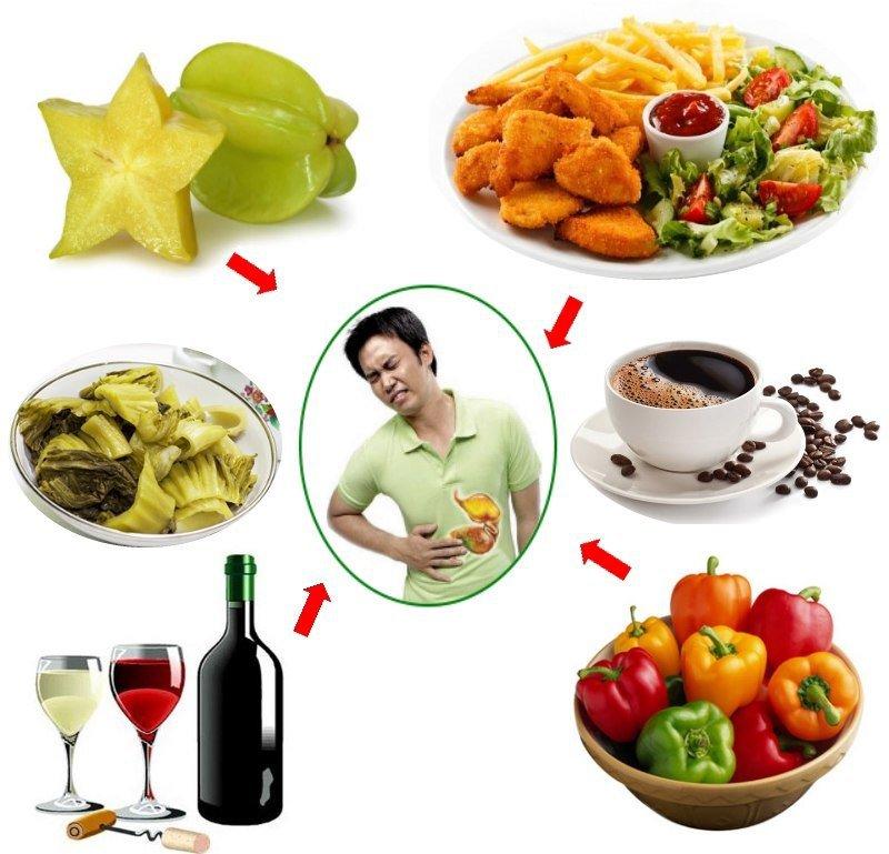 đau dạ dày nên ăn gì